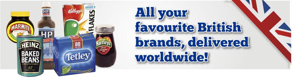 British Supermarket Abroad