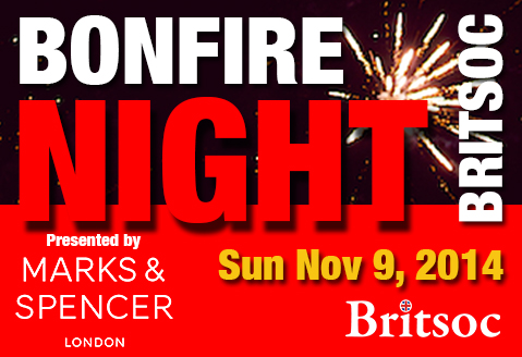 Bonfire Night Sun Nov 9, 2014