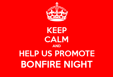Bonfire Night Promotional Material