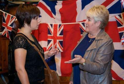 Britsoc at the Expat Fair 2014
