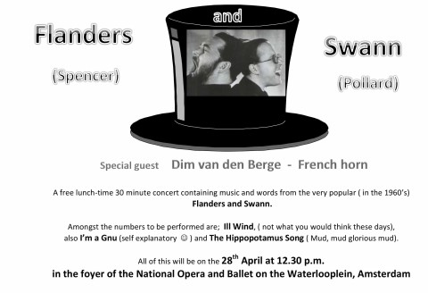 Flanders and Swan | 28th April at 12.30pm