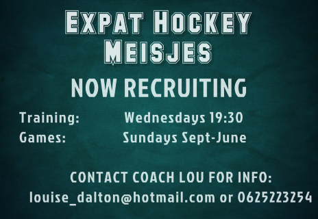 Wanted. Expat Women Hockey Players