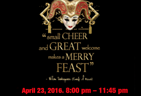The Infamous Shakespeare Night Extravaganza 2016
