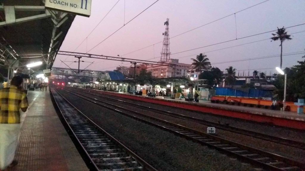 Early Morning Cochin Railway Station