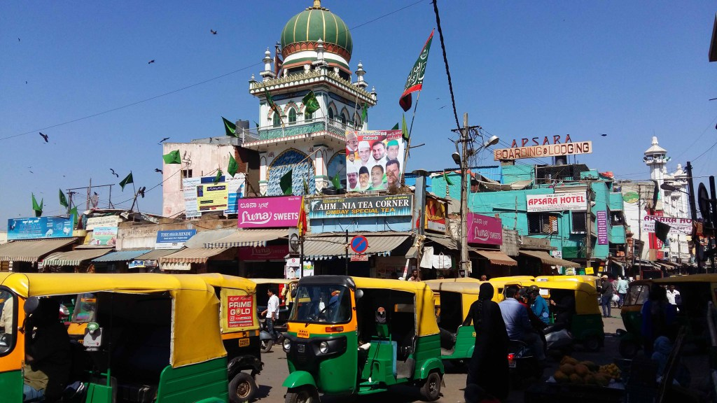 Hindu Temple, Russell Market, Bangalore